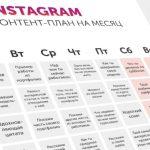 Как сложить контент-план для социальных сетей
