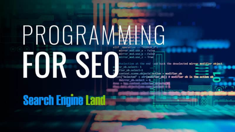 SEO VS Programming