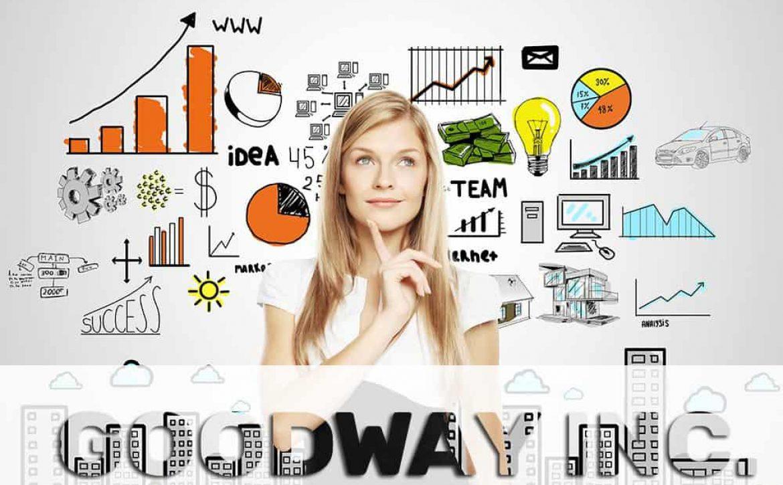 businesswoman thinking